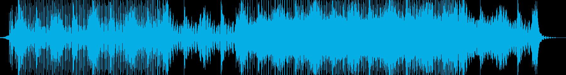 シンプルなレトロウェーヴの再生済みの波形