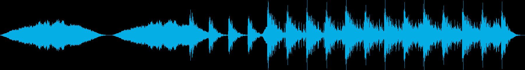 ドキドキするドラムと抜群の和音によ...の再生済みの波形