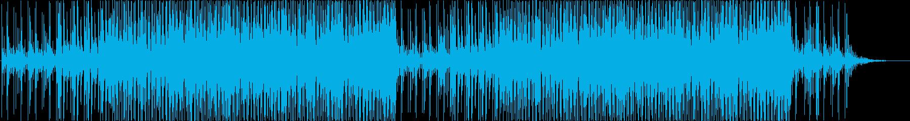 探偵の尾行シーンや、怪しげな事務所シーンの再生済みの波形