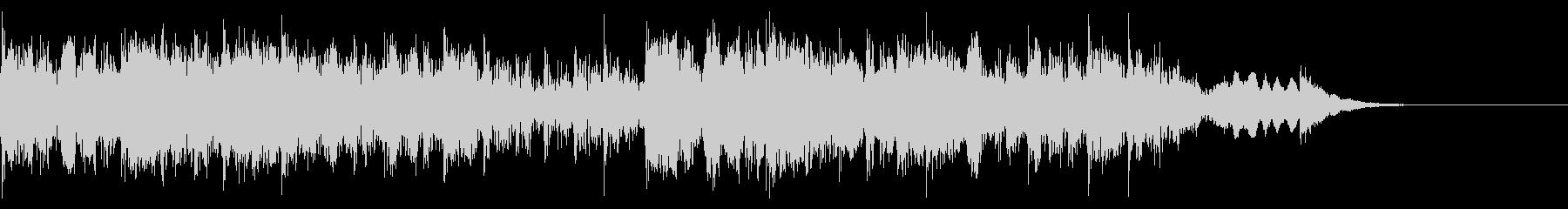YouTube尺八による和風ジングル06の未再生の波形