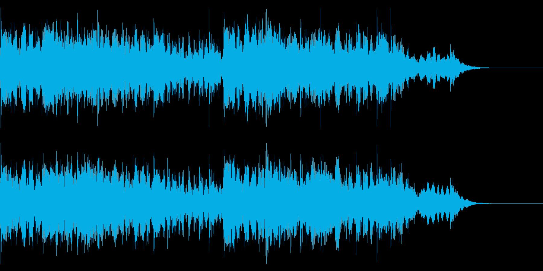 YouTube尺八による和風ジングル06の再生済みの波形