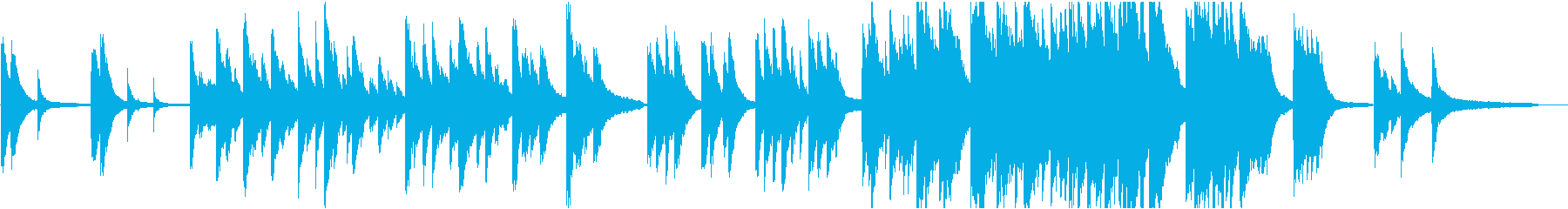 企業VP18 24bit44kHzVerの再生済みの波形
