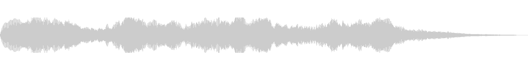 Fのキーの未再生の波形