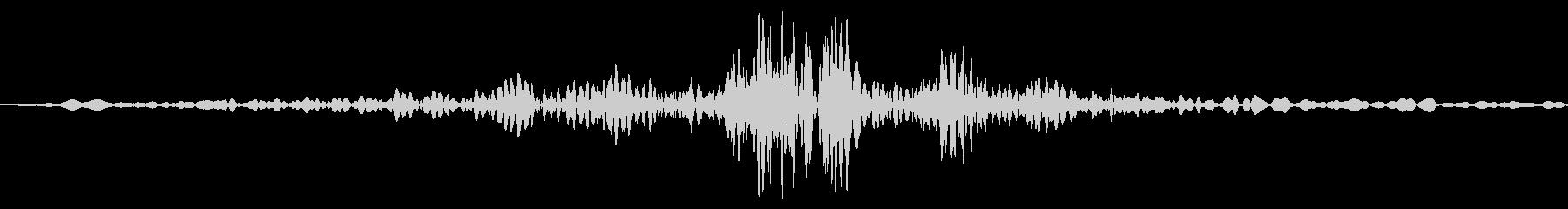 ビュンッ(棒状の物を振るSE)の未再生の波形