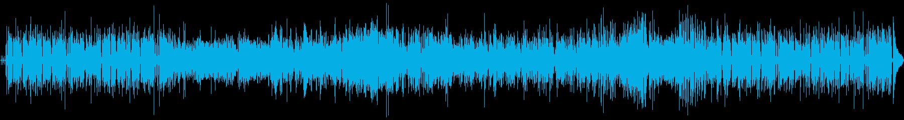 クールなジャズ、アコースティック、...の再生済みの波形