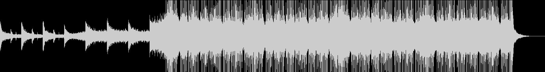 動画のエンディング等に使えるエモいEDMの未再生の波形