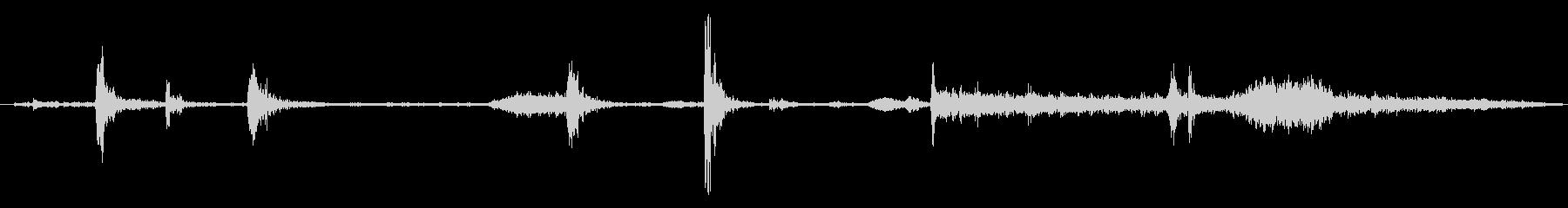 ダンプトラックダンプの未再生の波形