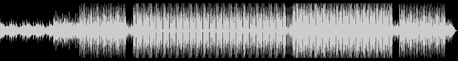 音数少なめのお洒落なディープハウスの未再生の波形