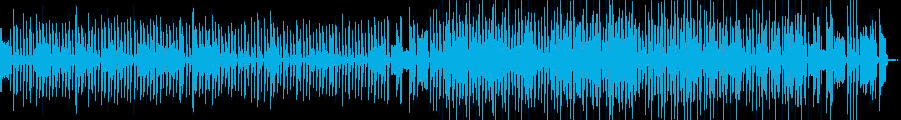 ピアノと口笛のほのぼの明るい曲 映像などの再生済みの波形
