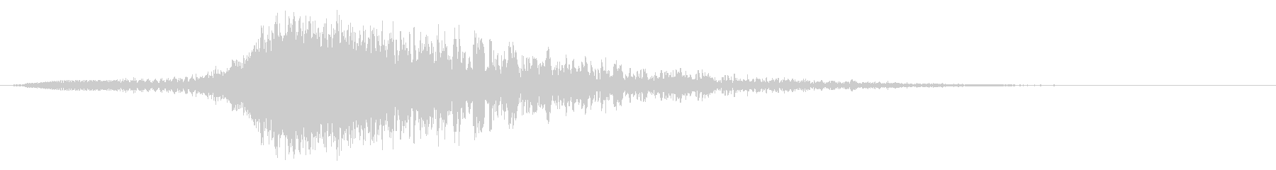 キュイーンドカーン:迫力ある上昇する音2の未再生の波形