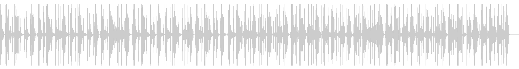 120 BPMの未再生の波形