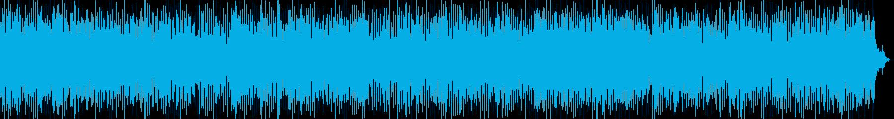 浮かれ気分のフォーキーブルースの再生済みの波形