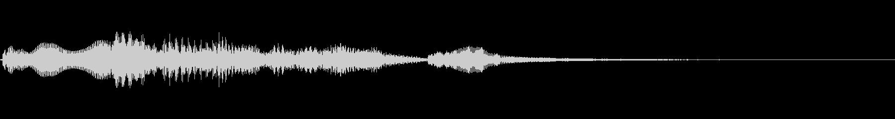 [効果音]ほのぼの、着信音の未再生の波形