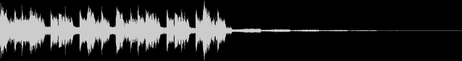 ノリノリ・キャッチーEDMジングルの未再生の波形