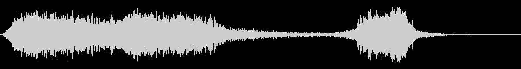 スペースホールサック2の未再生の波形