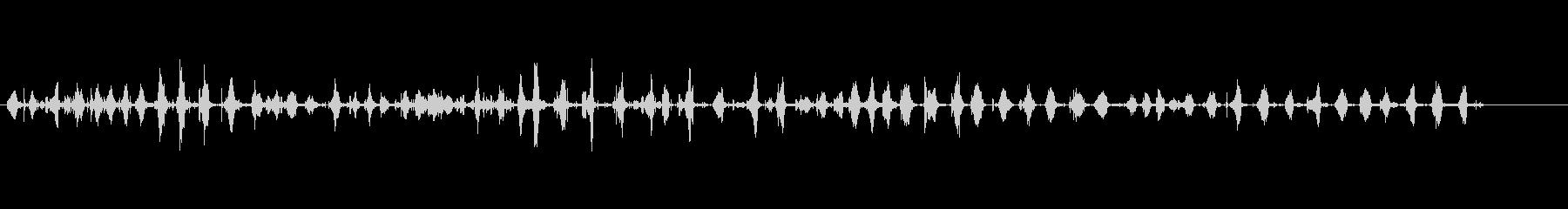 パブパブ数人の未再生の波形