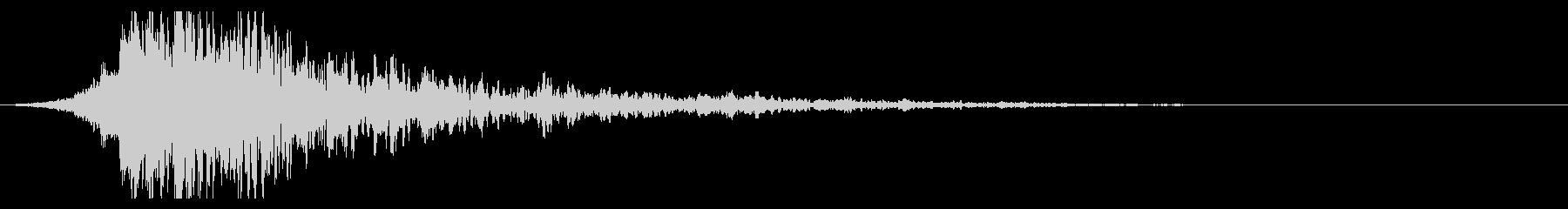 シュードーン-38-2(インパクト音)の未再生の波形