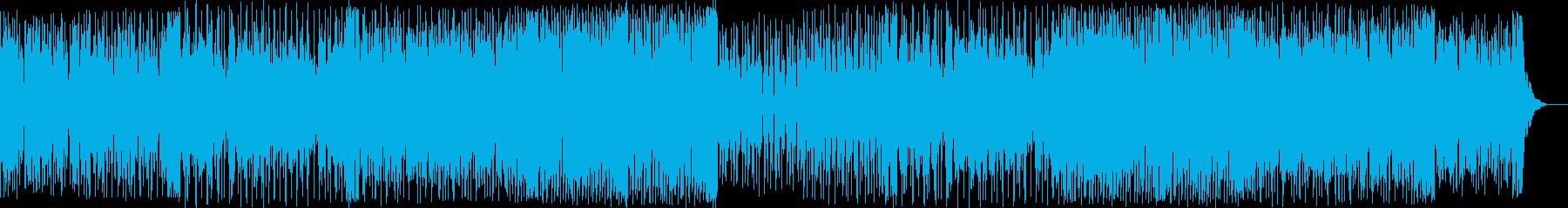 切なくカッコいいEDMダンス曲の再生済みの波形