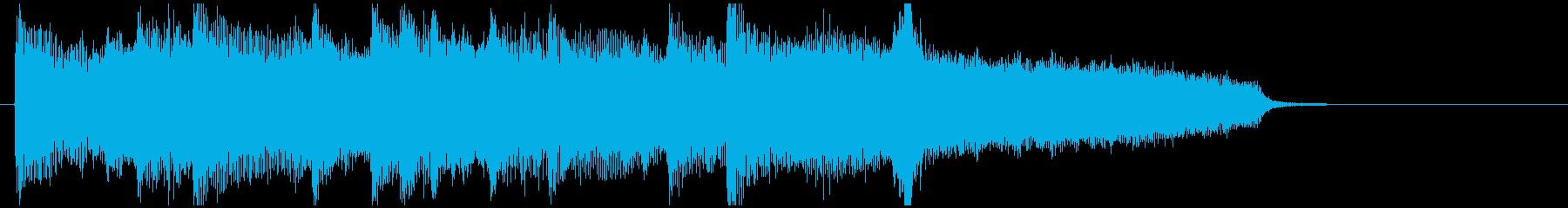 切ないバラード系ジングルの再生済みの波形
