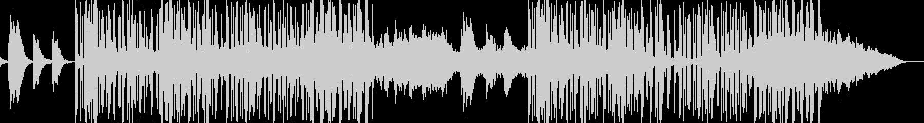 切ないピアノが特徴的なバラードの未再生の波形