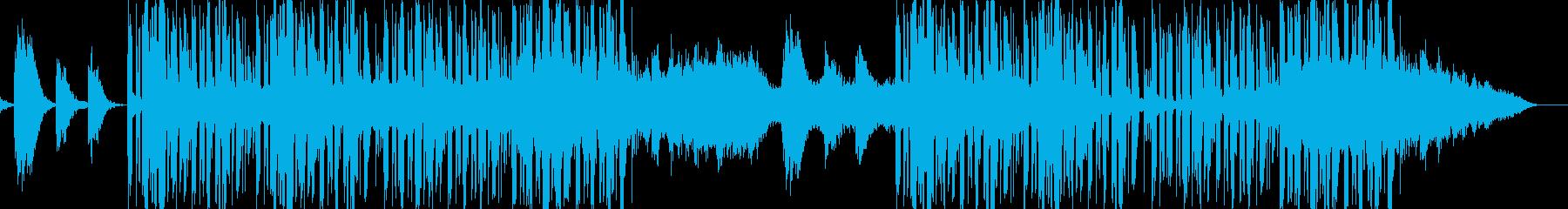 切ないピアノが特徴的なバラードの再生済みの波形