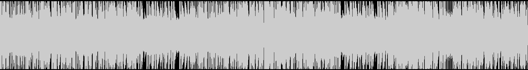 ドラムンベース ループ仕様の未再生の波形