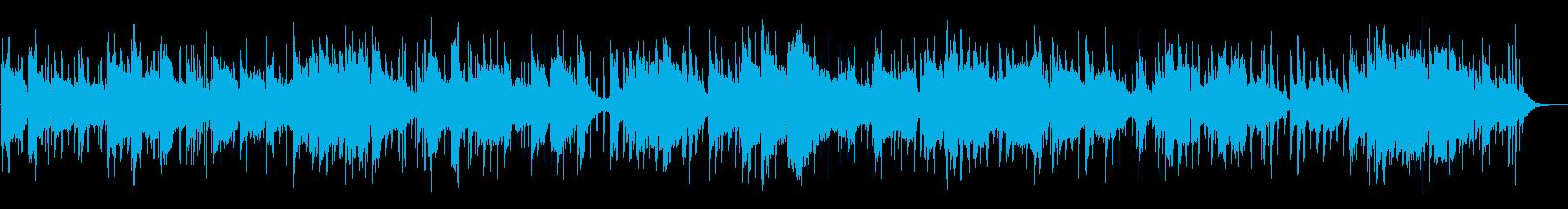南国の情景のBGM① の再生済みの波形