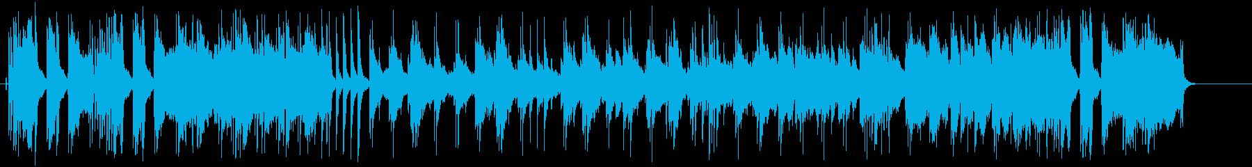 エモーショナルなR&B風へヴィーバラードの再生済みの波形