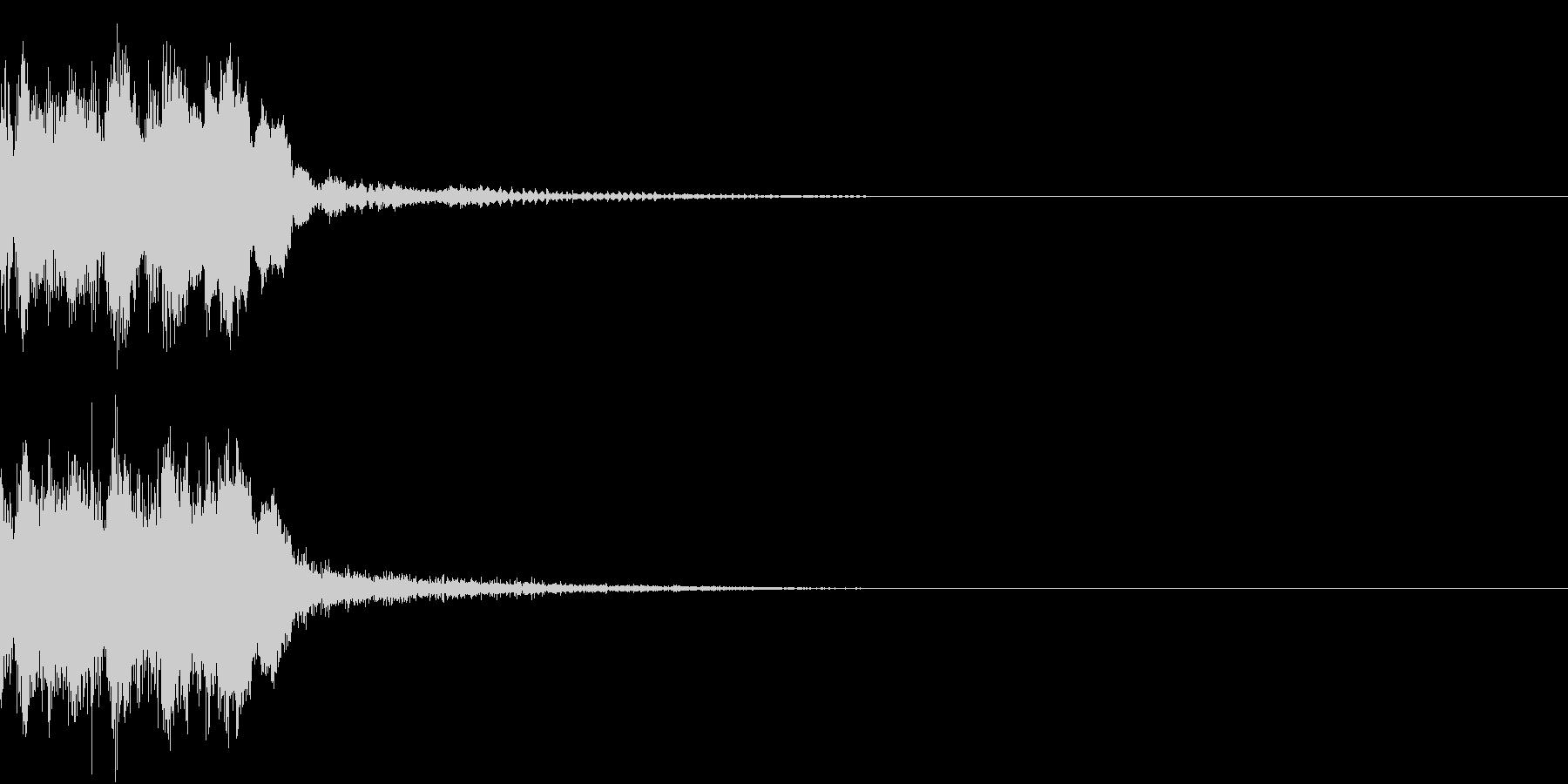 レベルアップ アイテム ゲット ヒット2の未再生の波形