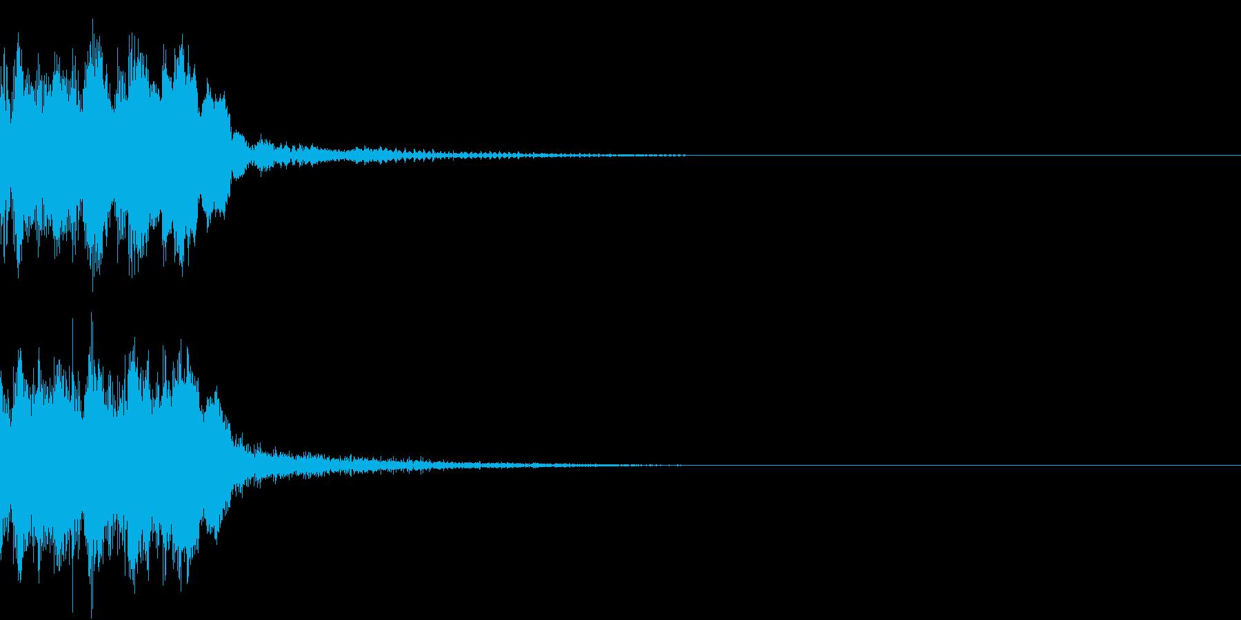 レベルアップ アイテム ゲット ヒット2の再生済みの波形