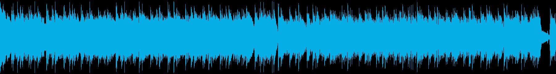 【ループ仕様】かっこいいロックギターリフの再生済みの波形