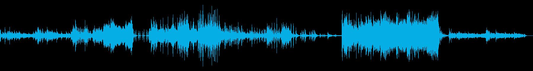ワクワクさせたい曲の再生済みの波形