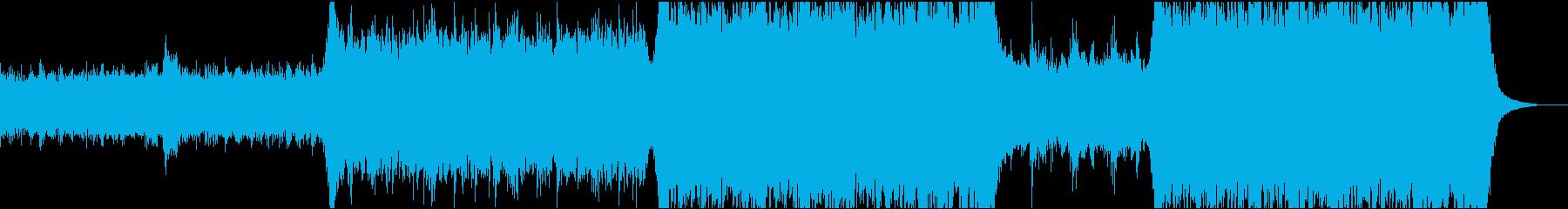 現代の交響曲 企業イメージ 素晴ら...の再生済みの波形