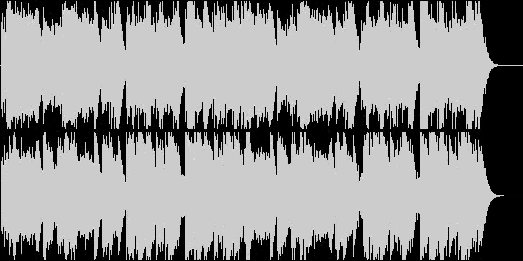 キレイな音色で木琴のような打楽器サウンドの未再生の波形