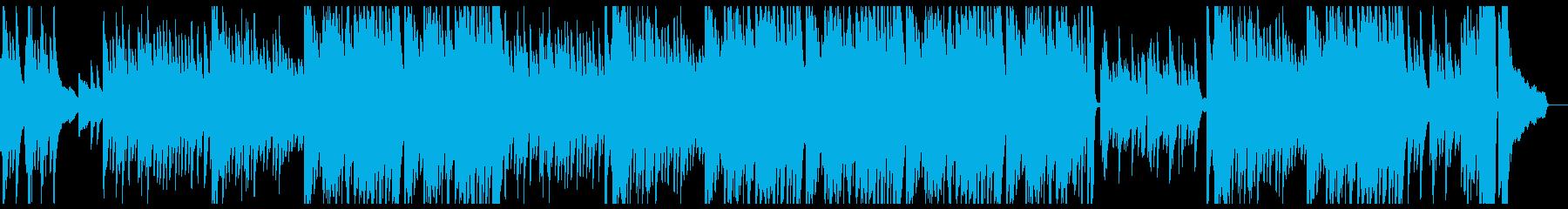 感動的なピアノソロの再生済みの波形