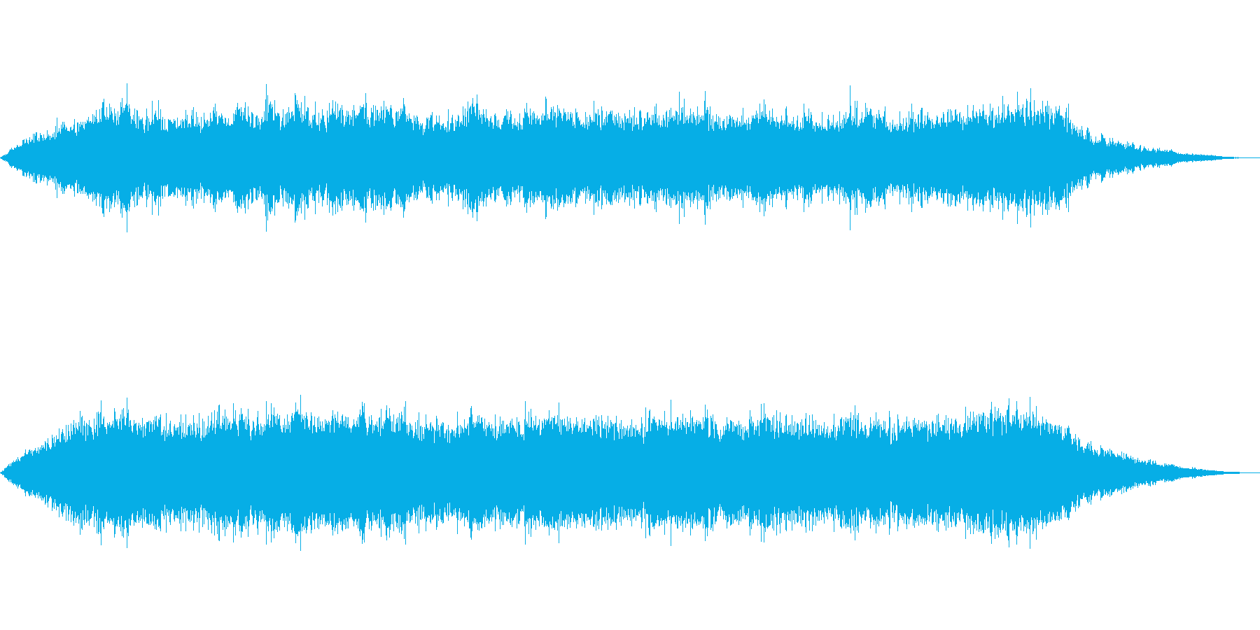 海 波 浜辺 海岸 カモメ等の環境音06の再生済みの波形