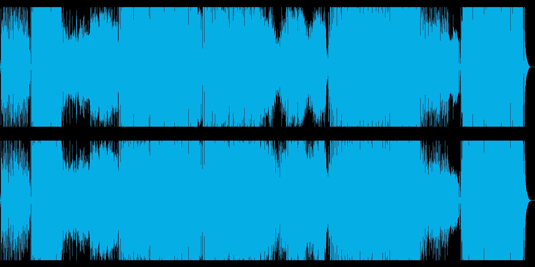 とにかくかわいいエレクトロポップ!の再生済みの波形