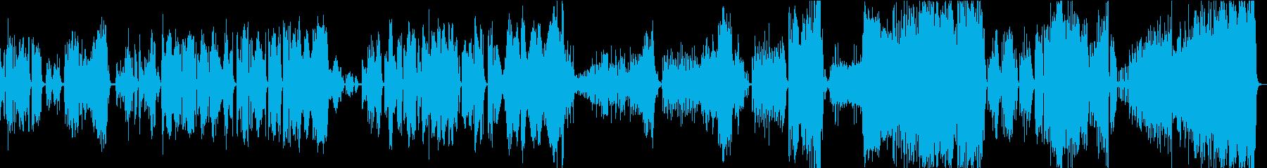 ヴァイオリンの超絶技巧!「ツィガーヌ」の再生済みの波形