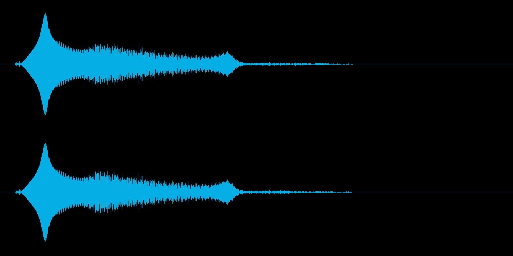 小鳥(鳴き声、さえずり、ヒナ)の再生済みの波形