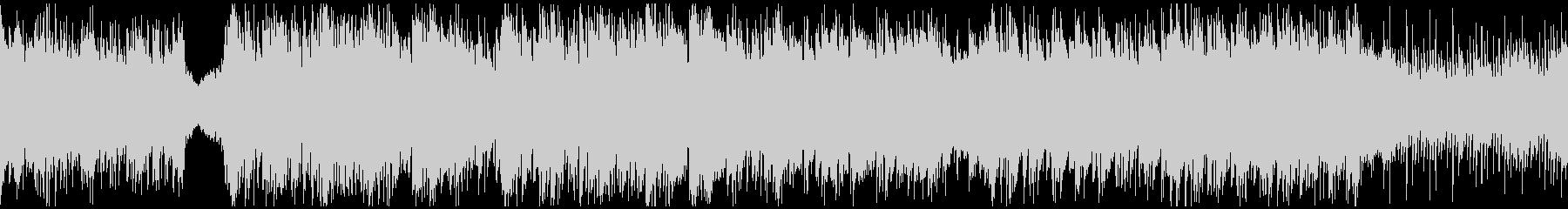 神秘的な民族音楽・ループの未再生の波形