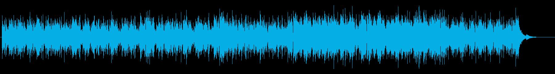 AOR風ダンディなピアノ・フュージョンの再生済みの波形