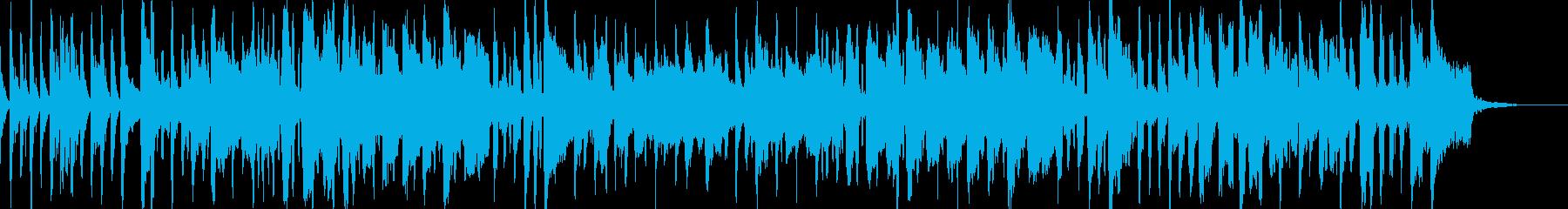 伝承歌「小山の子うさぎ」軽快な祭囃子風の再生済みの波形