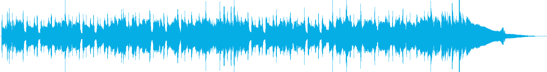 夏をイメージしたアコースティックナンバーの再生済みの波形
