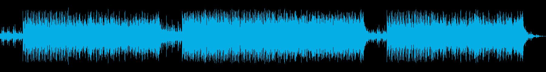 Jazz風の曲で映像・アニメゲームに最適の再生済みの波形