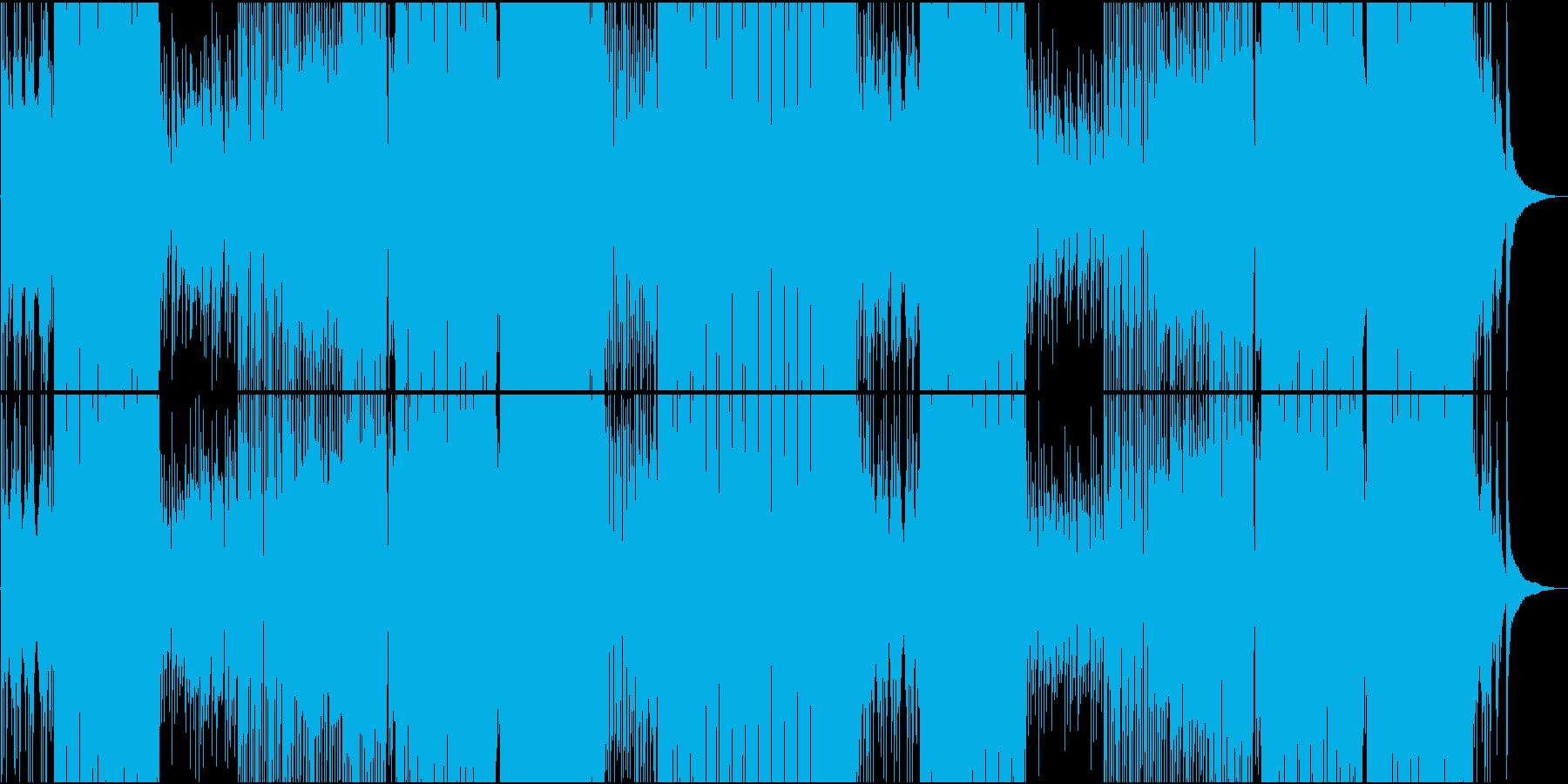 ダンサブル爽やかReggaetonEDMの再生済みの波形