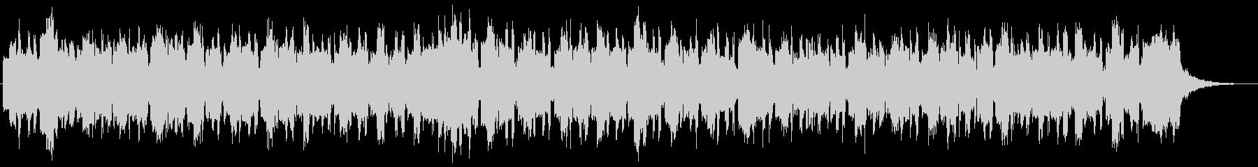 レトロなオルガンの可愛い感じのジングルの未再生の波形