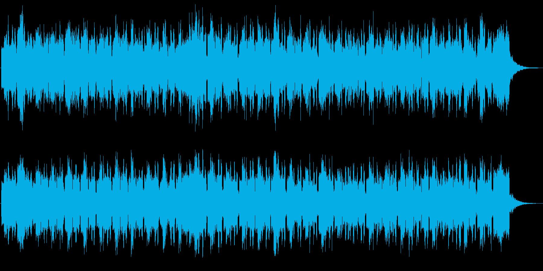 レトロなオルガンの可愛い感じのジングルの再生済みの波形