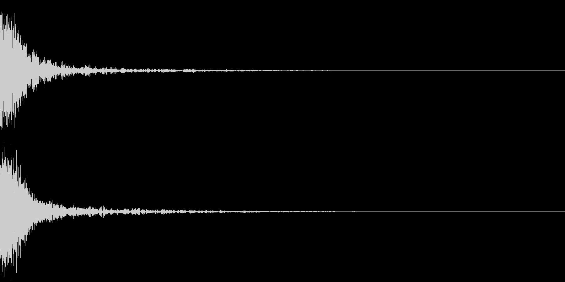 シャキーン 光る キラリ キューン 09の未再生の波形