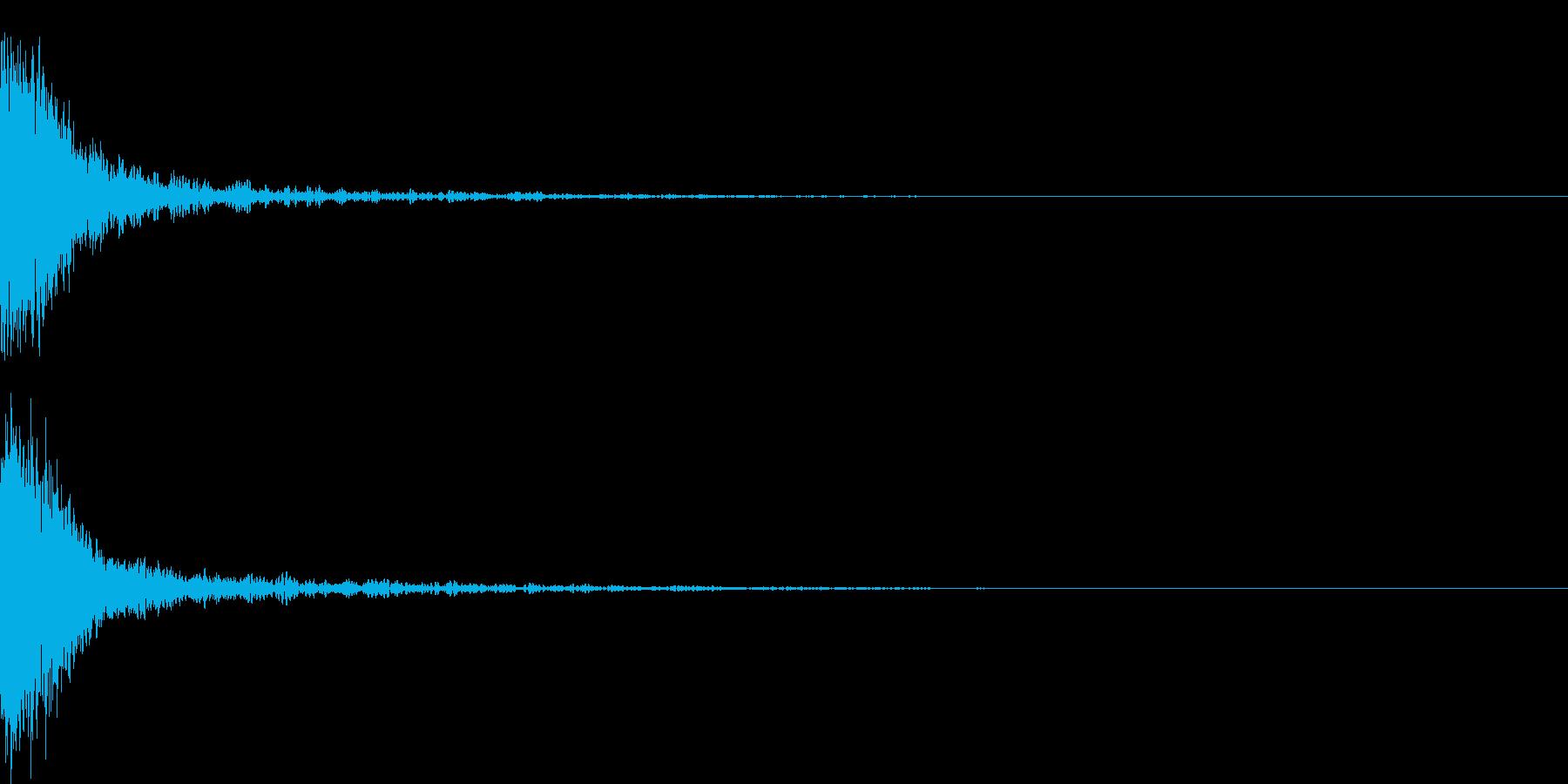 シャキーン 光る キラリ キューン 09の再生済みの波形