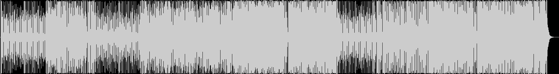 ハロウィン用、不気味でコミカルなマーチの未再生の波形